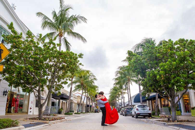 Palm Beach Engagement Session