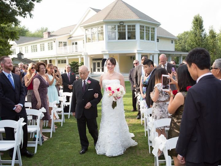 Tmx 1400765878277 Bride Coming Down Aisl Stow wedding venue