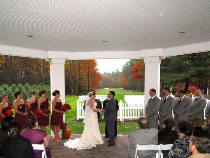 Tmx 1430409664955 Ceremony Nov 1 Under Octagonal Room Stow wedding venue
