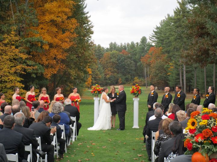 Tmx 1444147435092 Beautiful October Ceremony 2014 Stow wedding venue