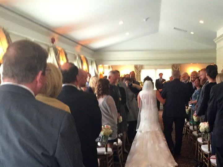 Tmx 1444147653396 Inside Ceremony 10 3 15 Bride Down Aisle Stow wedding venue