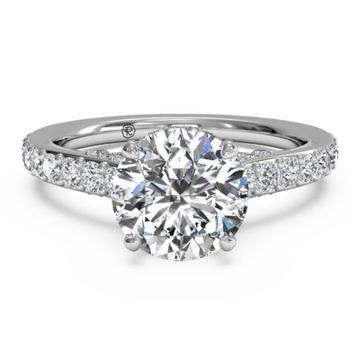 most popular engagement rings 2013 square w352