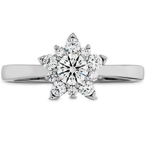 aerial cluster engagement ring 1