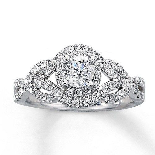 Tmx 1448992280485 Beautiful Silver Engagement Rings 2013 2 Wayne wedding jewelry