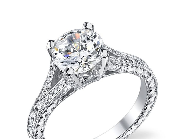 Tmx 1448992549420 Platinum Setting Engagement Ring 0 Wayne wedding jewelry