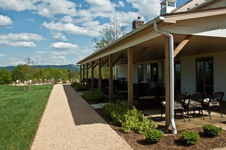 The 74'x18' veranda