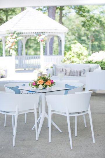 Vondom in/outdoor dining set