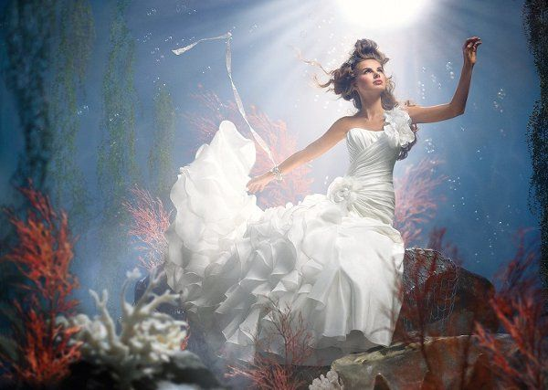 Disney Bridal Princess Collection II by Alfred Angelo | Ariel