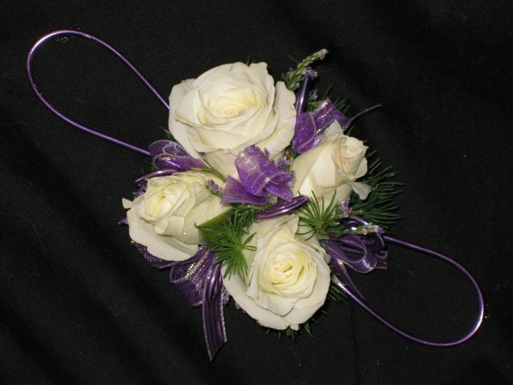Tmx 1399053263135 Four White Sweets With Purple W Mount Airy, Maryland wedding florist