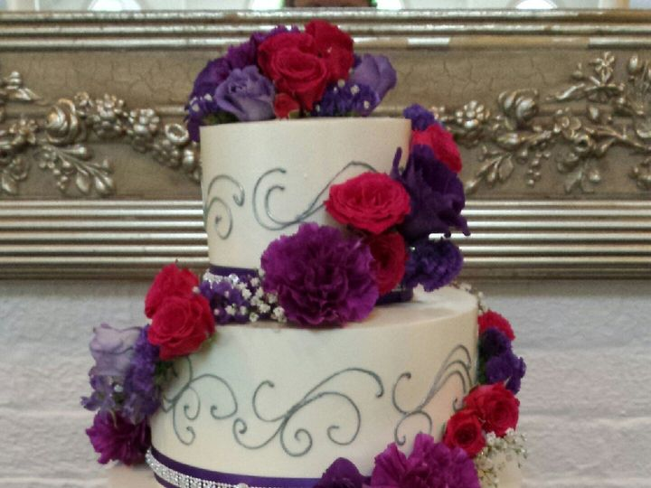 Tmx 1447262316713 Wedding Cakes 2 Mount Airy, Maryland wedding florist