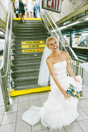 Bride commuting