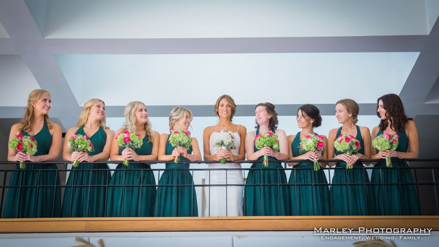 800x800 1481726296628 holler 65 bride and gals on mezzanine looking down