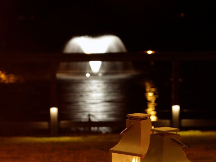 Tmx 1481759061001 Lanterns With Fountain In Background Mount Pleasant, SC wedding venue