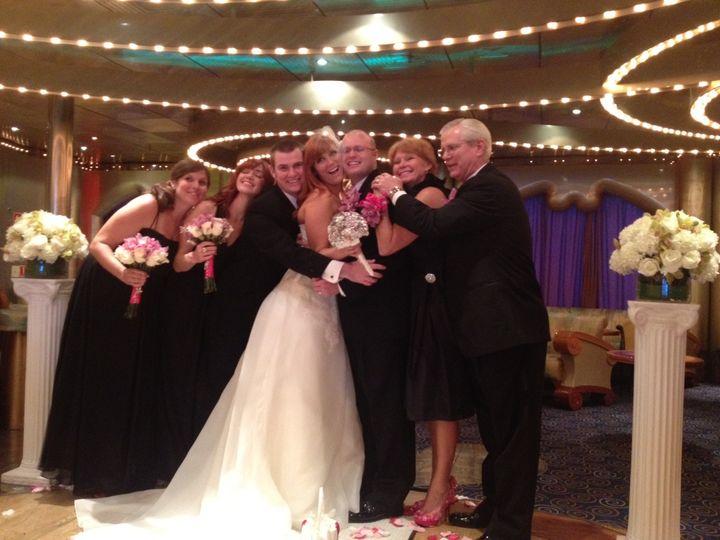 Hugs at the wedding