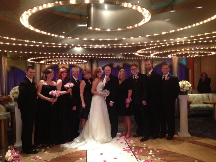 Guests of the newlyweds