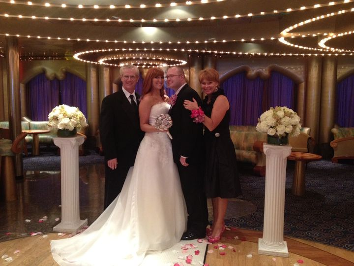 Tmx 1398561591156 Brides Parents With Coupl Miami, Florida wedding officiant