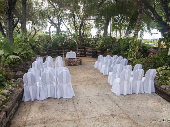 Tmx 1403660542748 94th Squadron Restaurant   Wedding Garden Area Miami, Florida wedding officiant