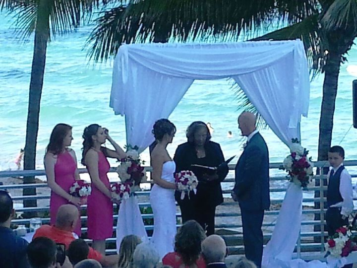 Tmx 1432571881466 Mark And Laurie Minear   5 16 15   Diplomat Hotel Miami, Florida wedding officiant