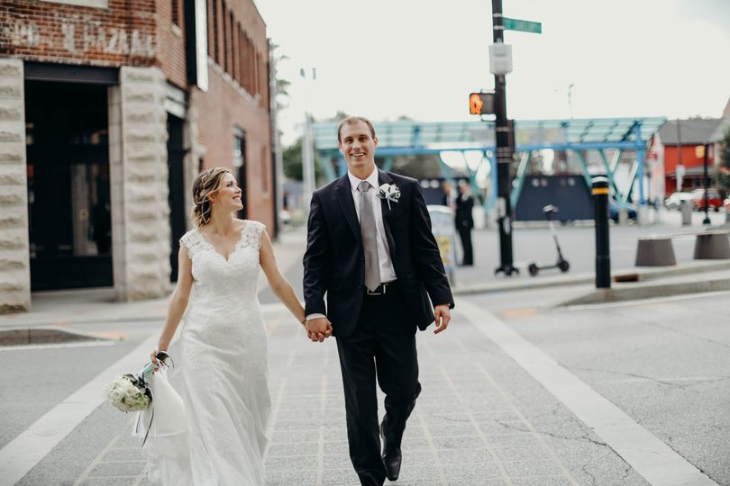 Urban wedding - Katelyn Mikell Photography