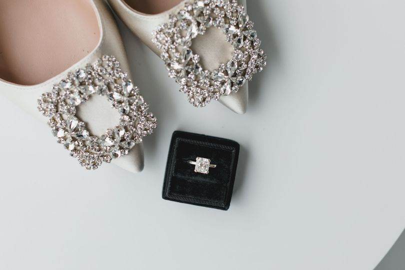 A touch of bling