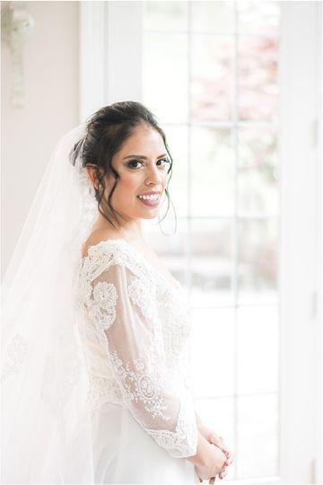 Bride goals!