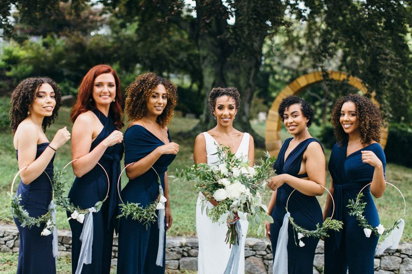 Bridesmaids for the win!