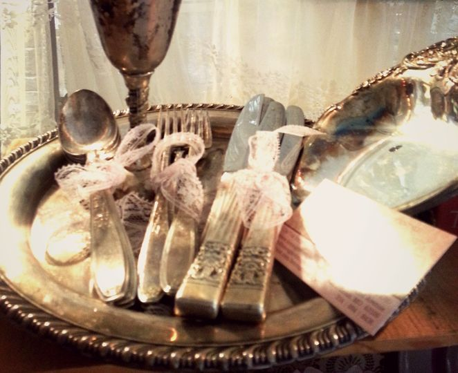 vintage silver rental