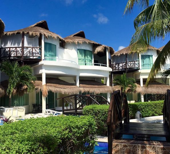 Villas in the resort