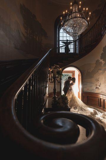Under the stairwell