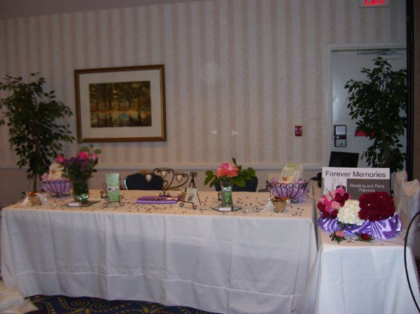 Forever Memories Booth at Envi Events Bridal Expo on October 19, 2008