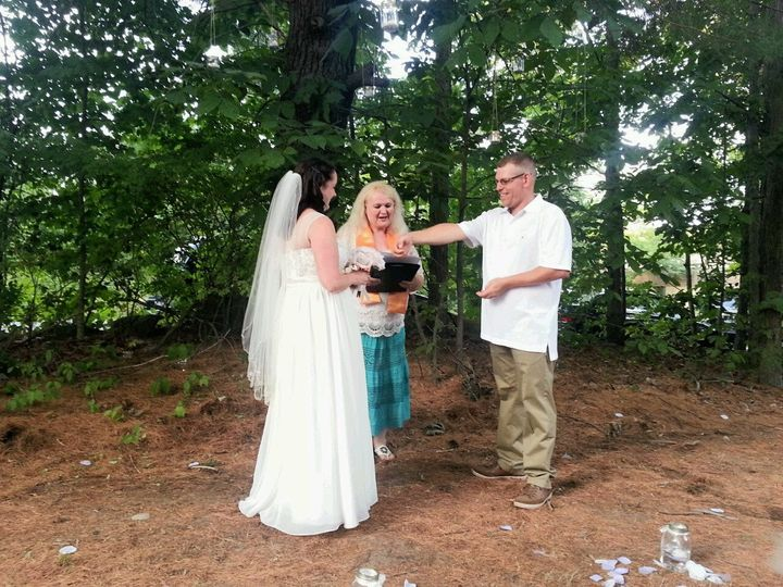 Tmx 1491091202867 Back Yard Wedding Merrimack, NH wedding officiant