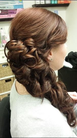 Details of curls
