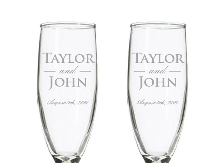 Tmx 1424452485936 Set0f2champagne Anderson, Indiana wedding favor