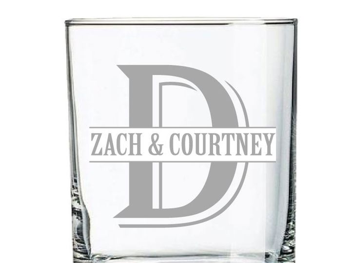 Tmx 1424452597769 14ozwhiskeymonogrambridegroom Anderson, Indiana wedding favor