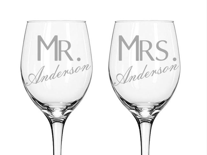 Tmx 1424452731385 Setof2mrmrslastname Anderson, Indiana wedding favor
