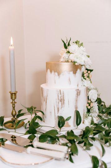Wedding cake | Liz Stewart Photography