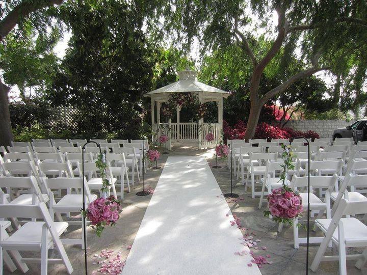 Otdoor wedding setup