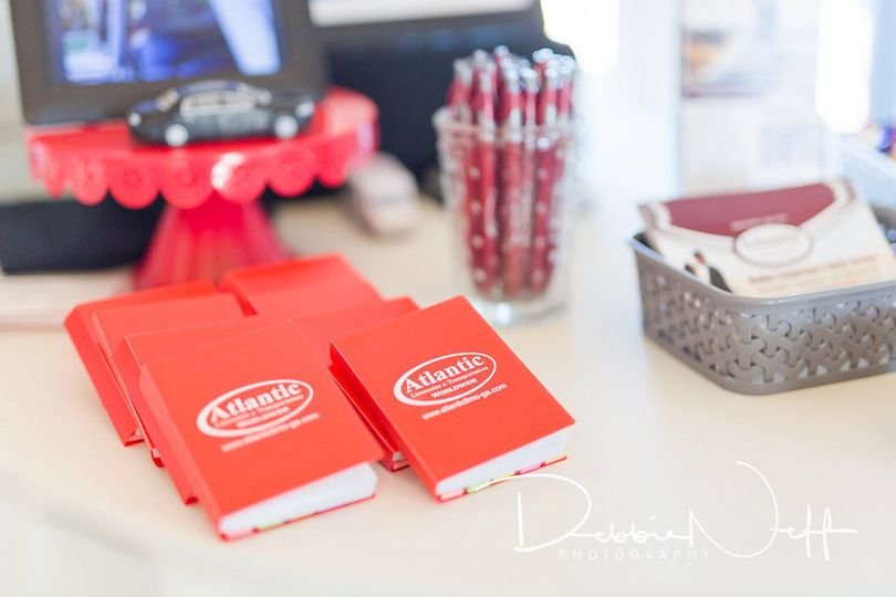 Red booklets