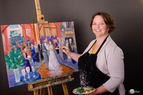 K Potter Fine Art Wedding Painter