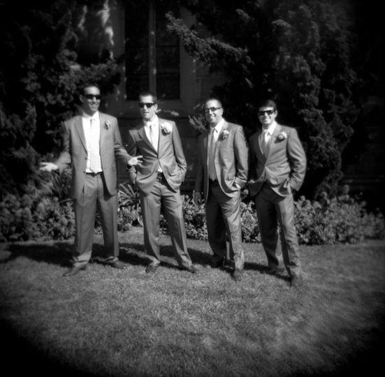 The four groomsmen