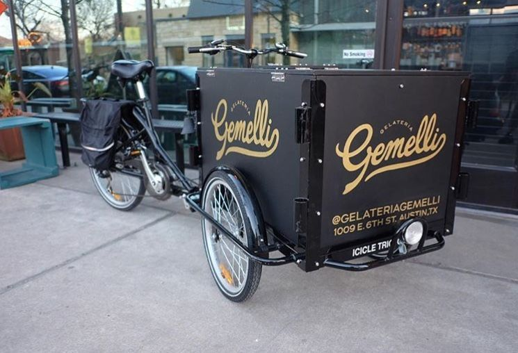 The gelato cart