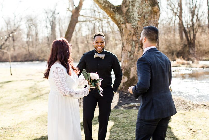 Friendly and fun officiant