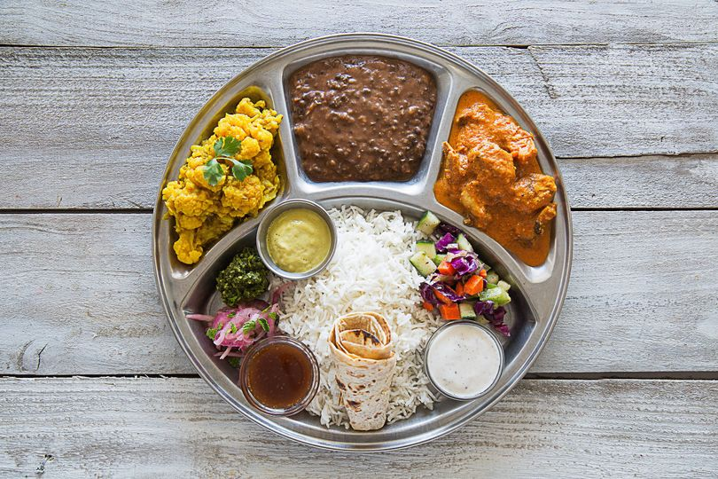 Thali Plate example