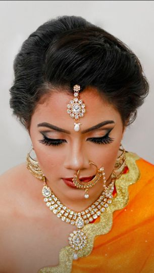Traditional Indian bridal