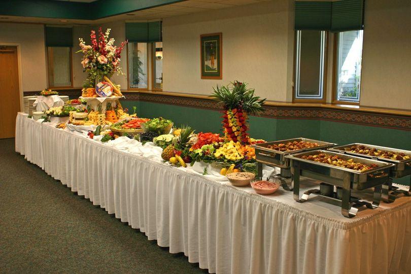 Buffet Style Set-up