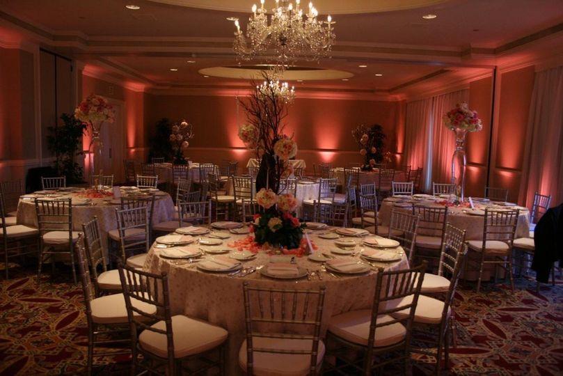 Wedding wireless Uplighting
