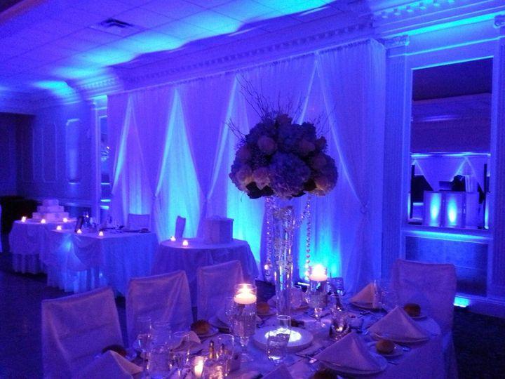 Wedding Backdrop & Uplighting