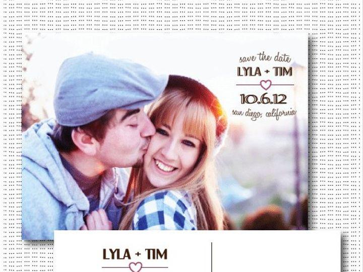 Tmx 1356609775383 Lylatimetsy Maplewood wedding invitation