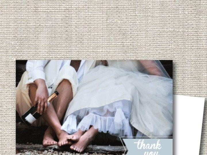 Tmx 1356610305875 Feetthankyouetsy Maplewood wedding invitation