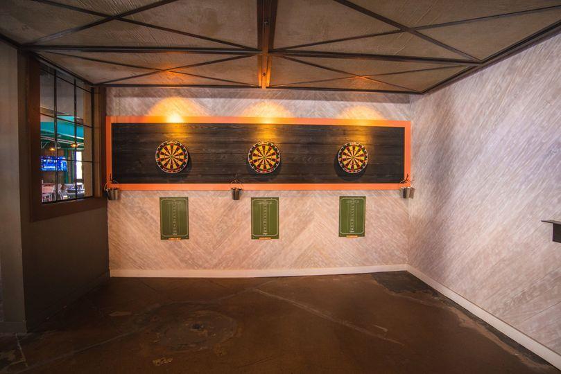 Darts area